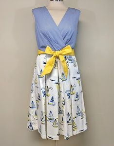 Chetta B Sailboat Dress
